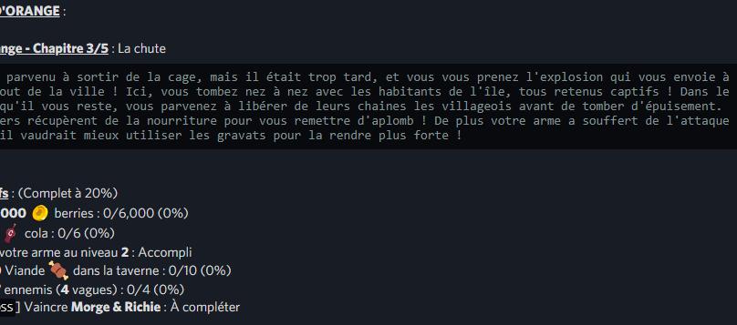 VILLE D'ORANGE / Arc Orange – Chapitre 3/5