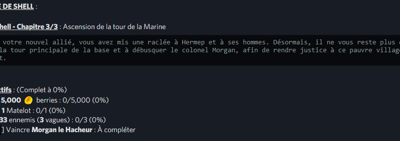 VILLE DE SHELL / Arc Shell – Chapitre 3/3