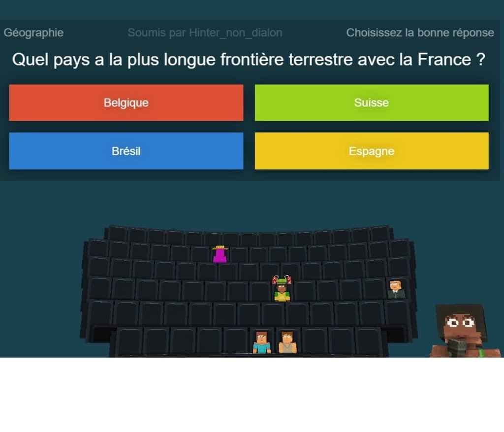 Une image sortie du jeu