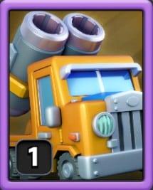 Troupe Rocket truck