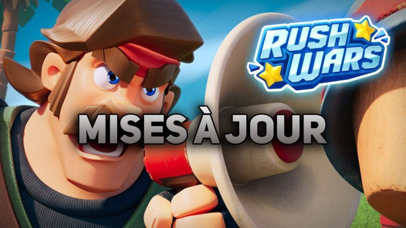 Liste des mises à jour de Rush wars