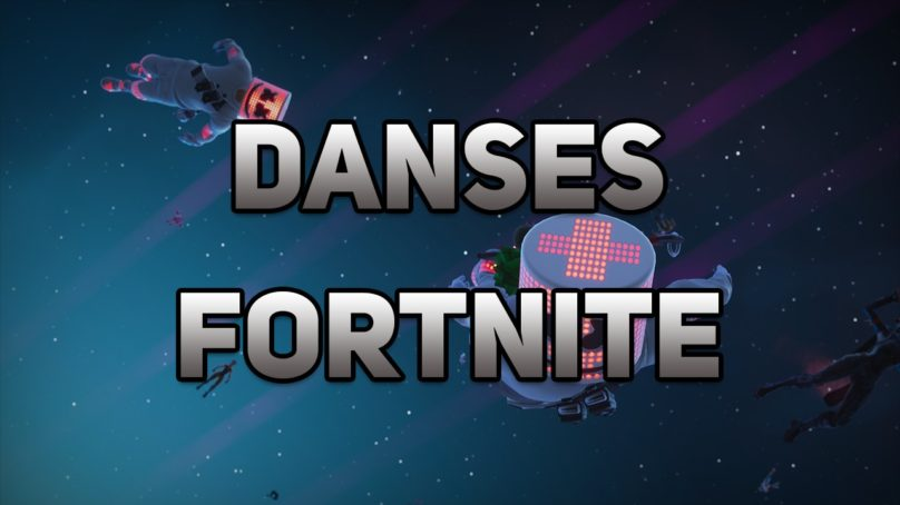 Toutes les danses Fortnite