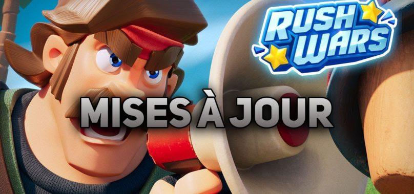 Informations mise à jour Rush Wars #2