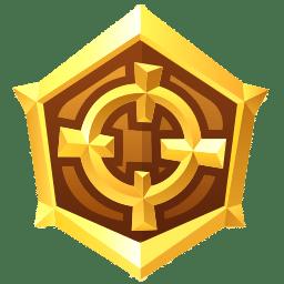 Médaille combattant en or