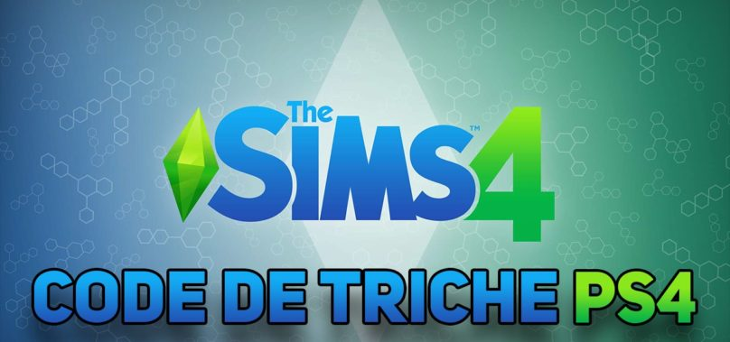 code triche sims 4 ps4