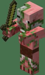 Cochon zombie Minecraft