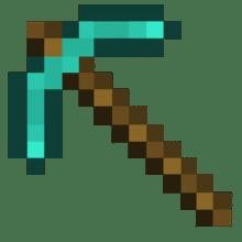Pioche en Diamant Minecraft