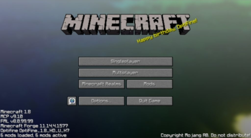 Minecraft avec forge