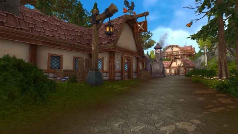 Image du jeu Ilysia, le village