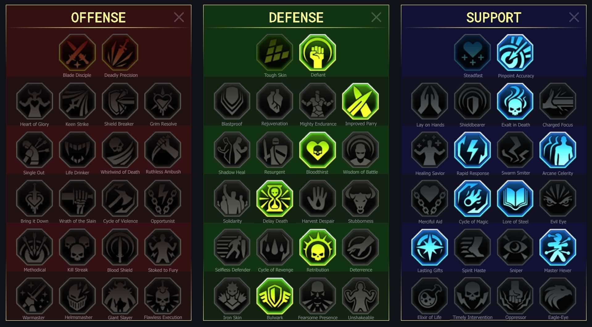maitrises campagne Arrière-garde (Rearguard Sergeant)