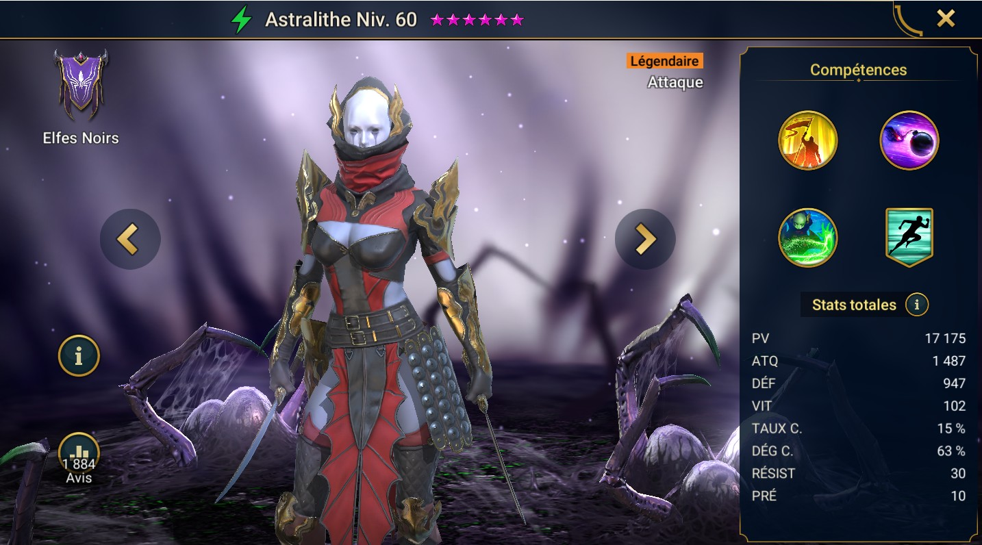 guide maitrises et artefact pour Astralithe (Astralith)