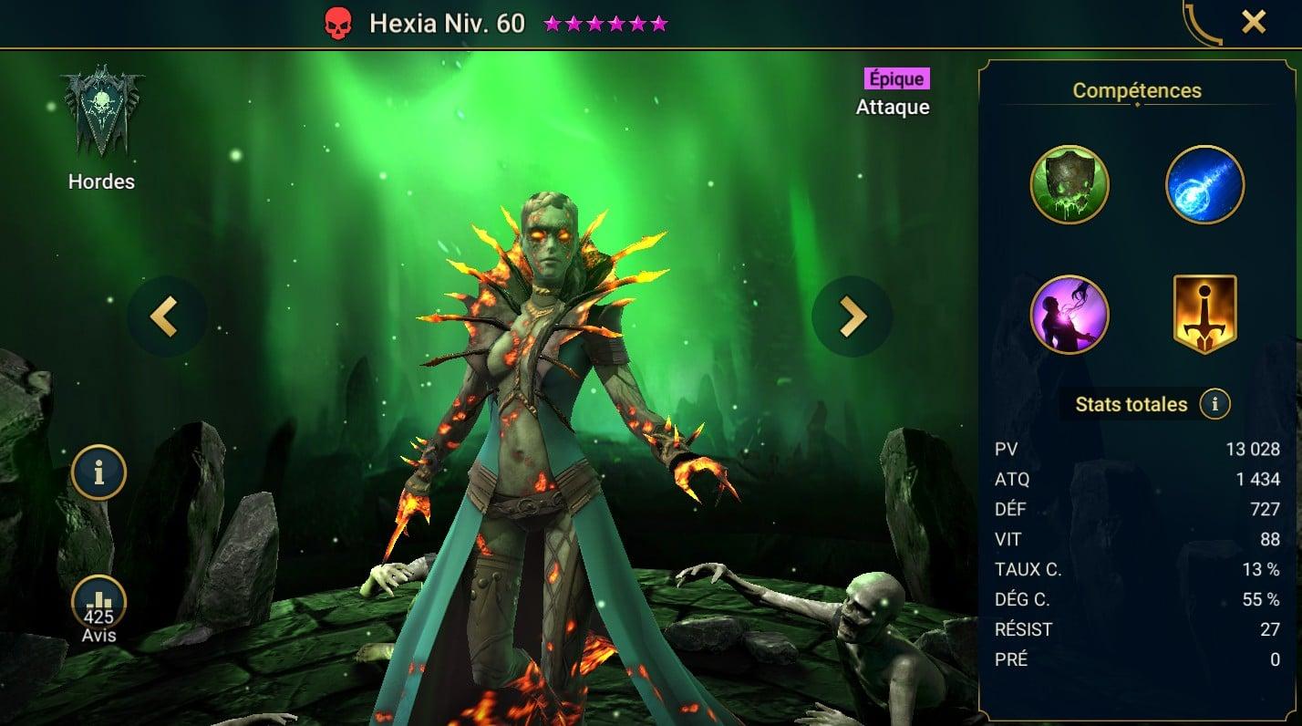 Guide maîtrises et artefact sur Hexia
