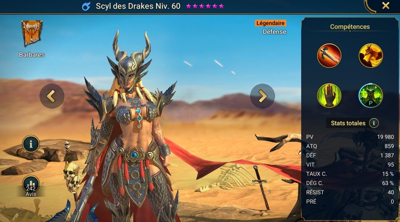 Guide maîtrises et artefact sur Scyl des Drakes