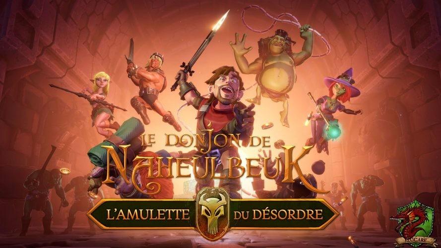 avis sur Le Donjon de Naheulbeuk L'Amulette du Désordre