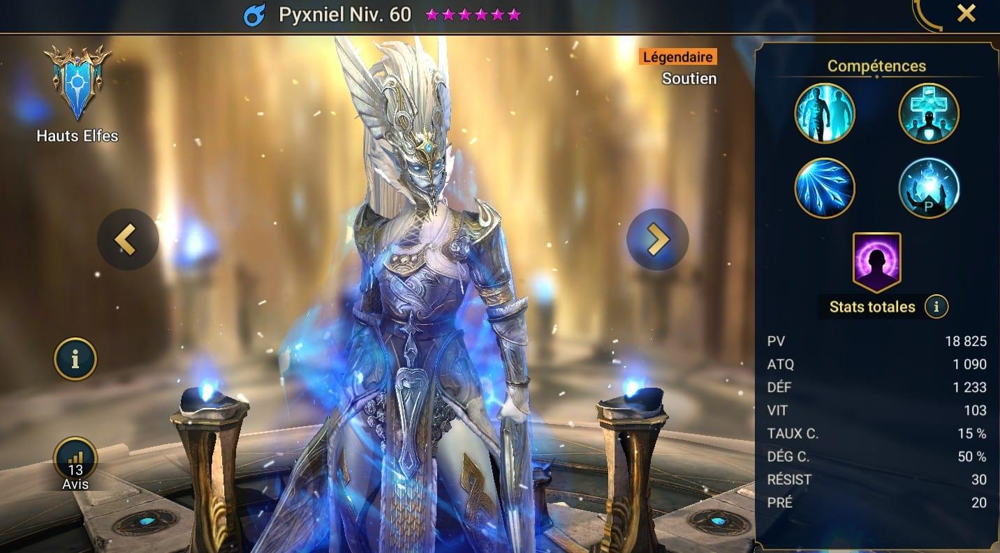 Guide maîtrises et artefact sur Pyxniel