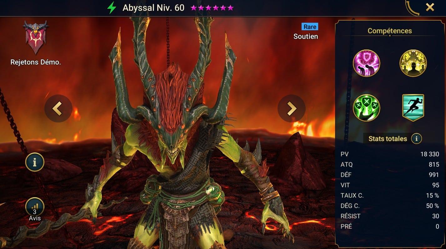 Guide maîtrises et artefact sur Abyssal