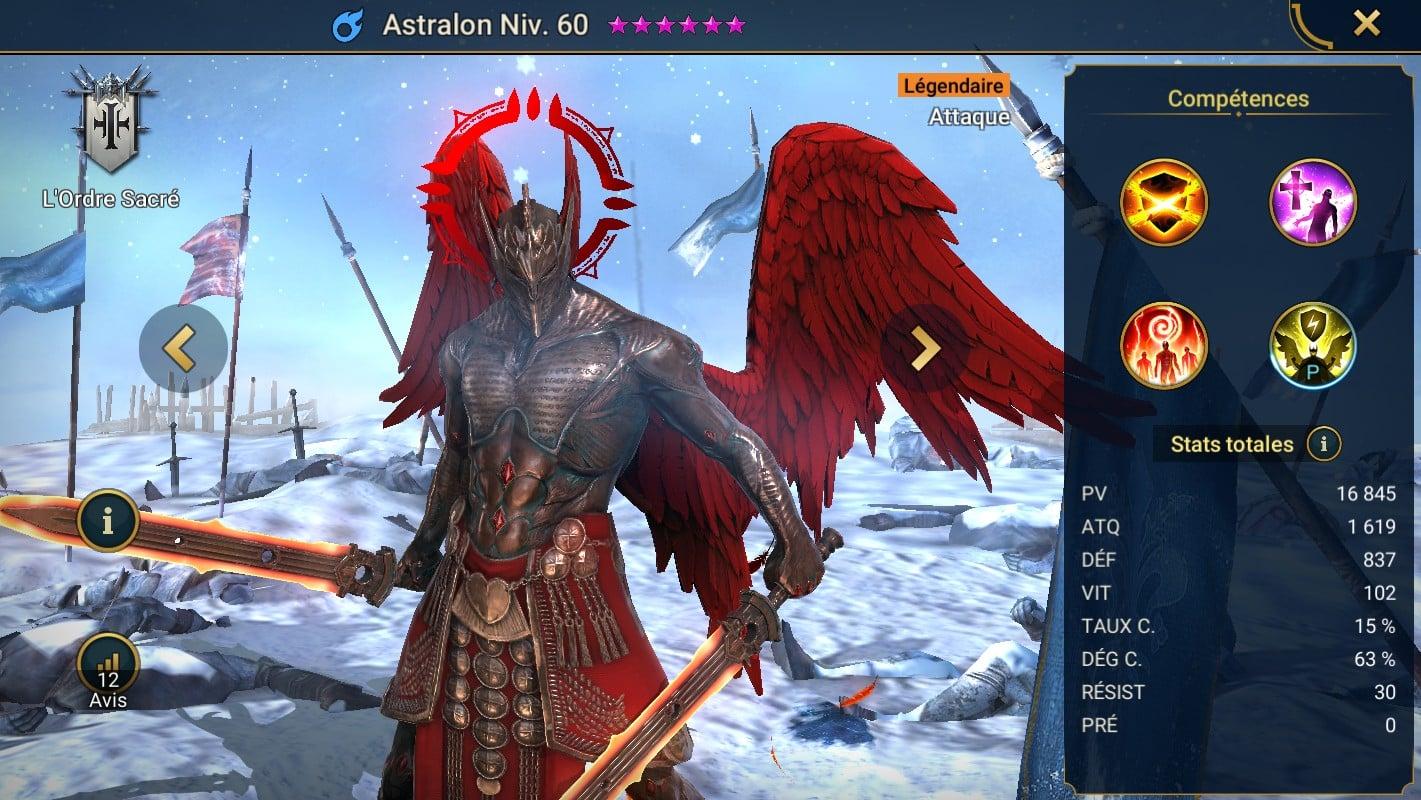 Guide maîtrises et artefact sur Astralon