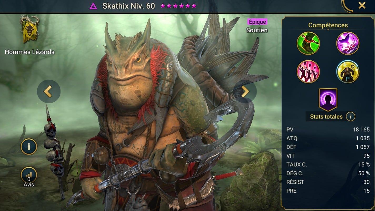 Guide maîtrises et artefact sur Skathix