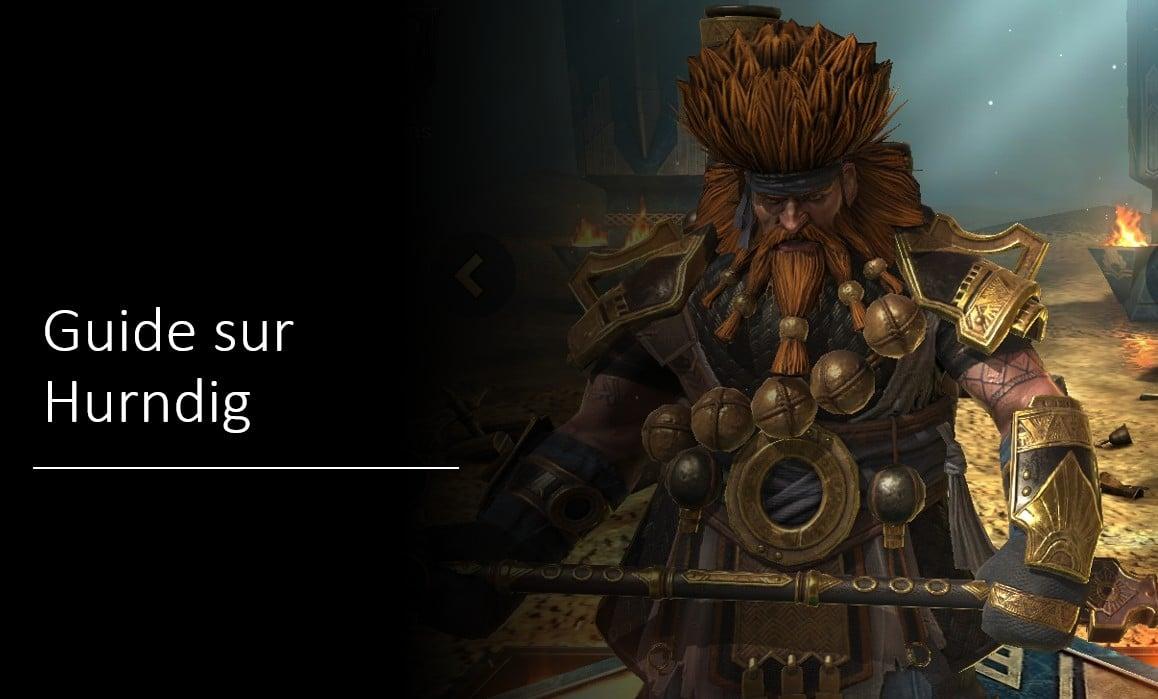 Guide maîtrises et artefact sur Hurndig