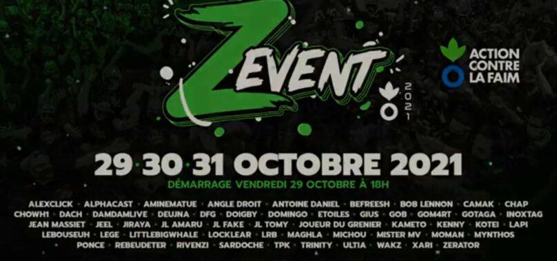 Date du Zevent 2021 ! Fin octobre avec un concert ?